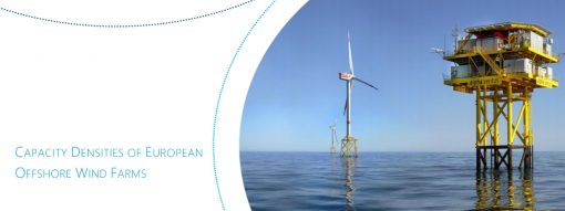 Study on capacity density of European offshore wind farms