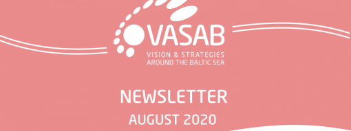 August 2020 edition of VASAB Newsletter is out