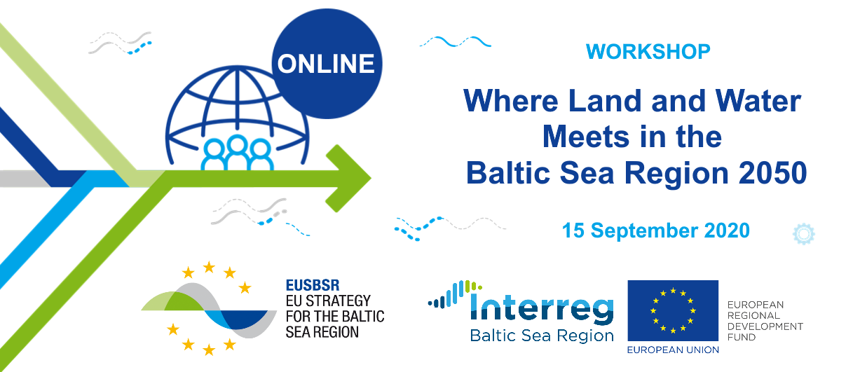 Online workshop 'Where Land and Water Meets in the BSR 2050'