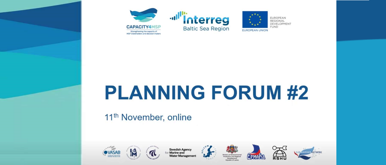 Capacity4MSP 2nd BSR Planners' Forum
