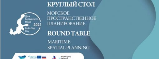 Maritime Spatial Planning roundtable at the Baltic Sea Day